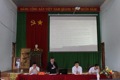 Hội nghị công chức, viên chức và người lao động trường THPT Nguyễn Tất Thành