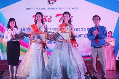 Nữ sinh Nguyễn Tất Thành giành danh hiệu Á khôi cuộc thi Nữ sinh duyên dáng tỉnh Đăk Nông lần 3