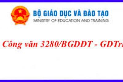 Hướng dẫn điều chỉnh nội dung dạy học theo công văn 3280
